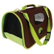 SAC DE TRANSPORT ZOLUX YING YANG VERT GM CHIEN CHAT