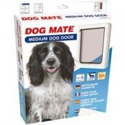 CHATIERE PORTE DOG MATE POUR CHIEN MOYEN JUSQU'A 460 MM D'HAUTEUR D'EPAULE BLANC