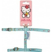 HARNAIS CHAT HELLO KITTY BLEU 10 MM