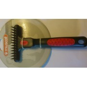 BROSSE ETRILLE SIMPLE 13 DENTS IDEAL POUR POILS LONGS