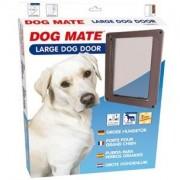 CHATIERE DOG MATE POUR GRAND CHIEN JUSQU'A 630 MM D'HAUTEUR D'EPAULE BRUNE