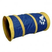 TUNNEL POUR CHAT NYLON PAW 50X25 CM FLAMINGO