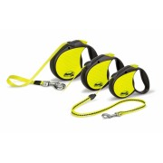 LAISSE ENROULEUR FLEXI NEON REFLECT MEDIUM