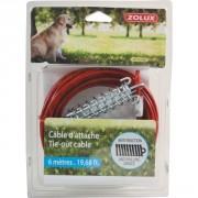 Câble d'attache pour chien 6M ZOLUX