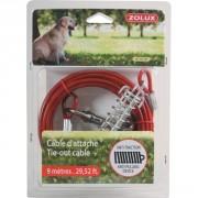 Câble d'attache pour chien 9M ZOLUX