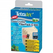 TETRA EASYCRYSTAL FILTERPACK C 600 3 CARTOUCHES DE FILTRATION AVEC CHARBON