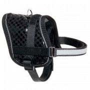 TEENY Weeny HARNAIS POUR CHIEN NOIR 26-35CM