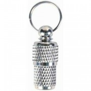 Tube adresse pour Collier Animaux chats Chiens argent
